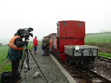First train arrives at Killington Lane