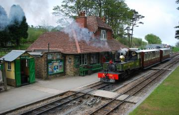 01 Woody Bay station by Peter Young
